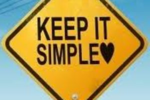 Keep It Simple! Guest Post by Author Alissa Finerman.