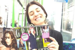 Jen Pastiloff in Grazia Magazine Talking Candidly About Depression.