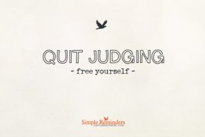 Before You Judge Me.