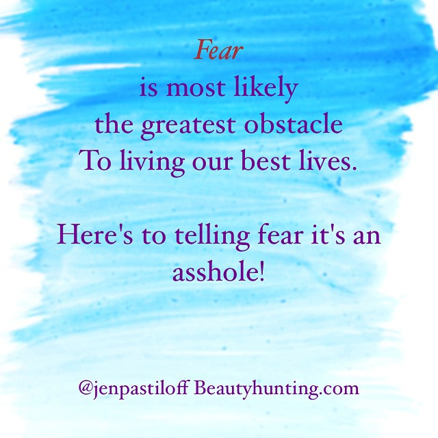 Tag someone fearless. Tag someone who is NOT an asshole. #dontbeanasshole.  I'm doing my Manifestation Workshop: On Being Human next in Vancouver jan 17 and London feb 14. No #yoga experience needed. Just be a #human. Tag friends who live in Vancouver or london. All info in link in profile under retreats/workshops. #manifestationyoga #onbeinghuman