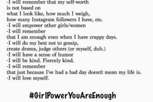 "10 Girls Sponsored for Jen Pastiloff's ""Girl Power: You Are Enough"" Workshop!"