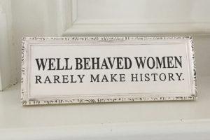 Revolutionary Women: Breaking The Ties That Bind Us