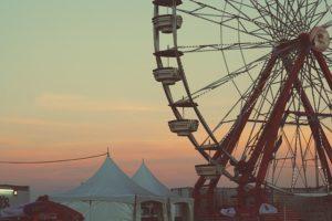 Ferris Wheels On The Nile