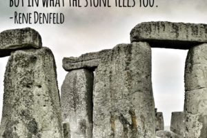 Stonehenge, Survival, and Me