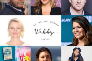 Elizabeth Gilbert, Jen Pastiloff & Krista Vernoff This Sunday For A Virtual On Being Human Workshop.