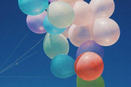 balloons against sky, joe