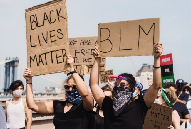 BLACK LIVES MATTER PROTEST